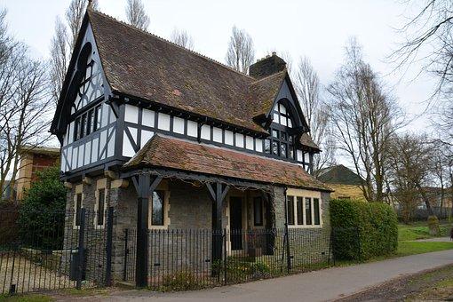 House, Tudor, Home, Architecture, Uk, Exterior, English
