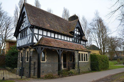 House, Tudor, Home, Architecture, Uk, Exterior, English