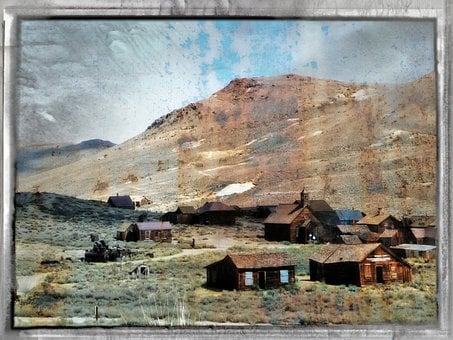 Bodie Ghost Town, California, Usa, Mining, Gold Mining