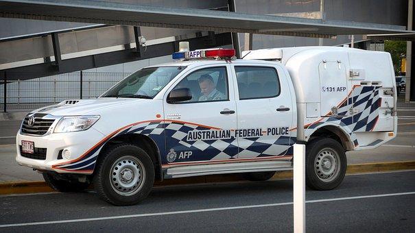 Police, Australia, Vehicle, Law, Patrol, Enforcement