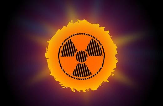 Warning, Sun, Radioactive, Ultraviolet, Radiation