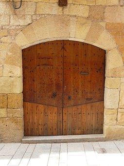Door, Wood, Wooden, Decorative, Entrance, Doorway