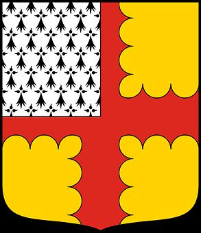 Denain, Michel, Chasteler, Crosses, Heraldry, Coats