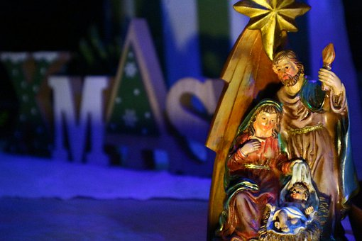 The Holy Family, Christmas, Ornament