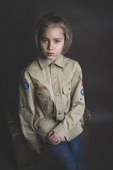 Costume, Scout, Girl, Dissolved