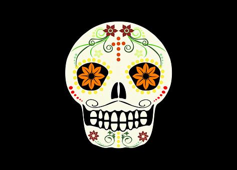 Skull, Death, Mexico, Bones