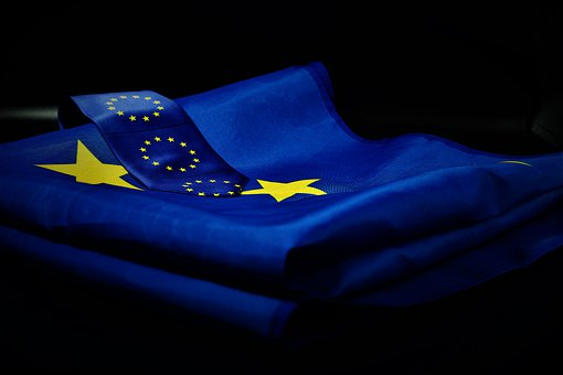 Europe, Europe Day, Eu Flag, Tie, Flag, Blue, Star