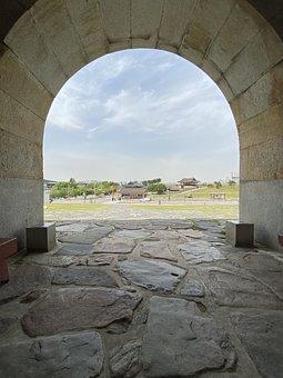 Hwaseong Fortress, Suwon Hwaseong, High, Hanok