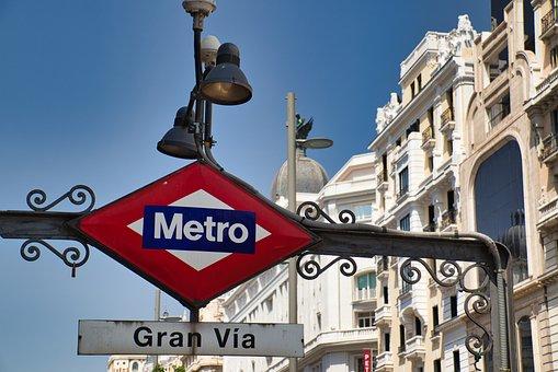 Metro, Underground, Stop, Station, Metro Station, City