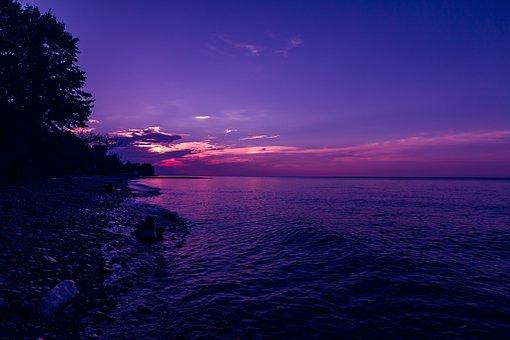 Lake, Erie, Lake Erie, Cleveland, Ohio, Water, Sky