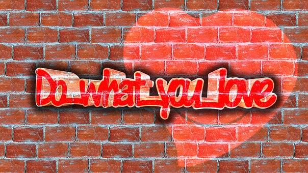 Heart, Positive, Motivation, Wall, Stones, Font, Act