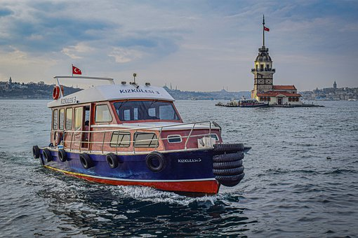 Istanbul, Boat, Culture, Home, Island