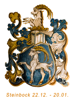 Zodiac Sign, Capricorn, Horoscope, Isolated