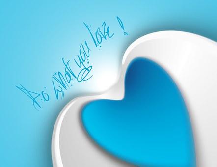 Heart, Positv, Motivation, Lines, Act, Action, Do, Joy