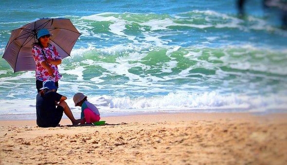 Vietnam, Sun Protection, Beach, Health, Skin Cancer