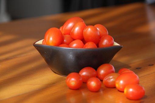 Tomate, Tomato, Organic, Tomate Cereja
