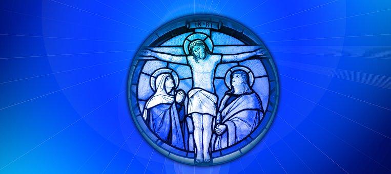 Religion, Jesus, Baptism, Faith, Fish, Wave, Cross