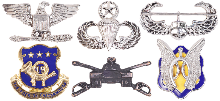 Emblem, Eagle, Wings, Heraldry, Military Emblem