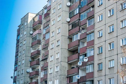 Krakow, Block, Osiedle, Blokowisko, Architecture