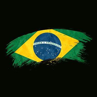 Flag, Brazil, Country, Symbol, National
