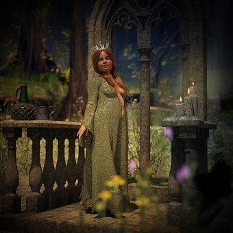 Fiona, Shrek, Fairy Tales, Fantasy, Princess, Girl