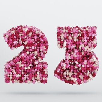 The Number Of, 23, Twenty-Three, Number