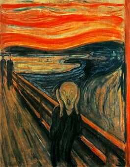 Edvard Munch, Scream, Painting, Terror, Nightmare