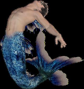 Mermaid, Merman, Neptune, Fantasy, Mythology, Siren