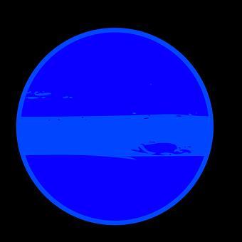 Neptune, Planet, Illustration