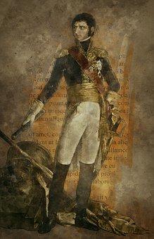 Prince, King, Jean Baptiste Bernadotte, Noble, Painting