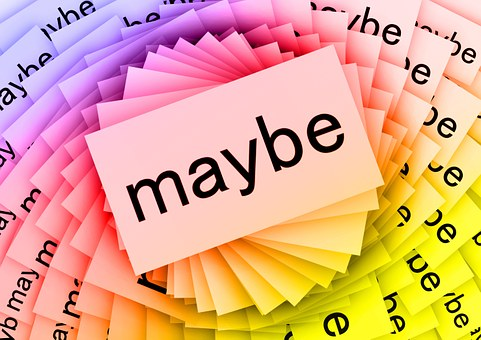 Maybe, Cards, Colorful, Many, Spiral, Possibly