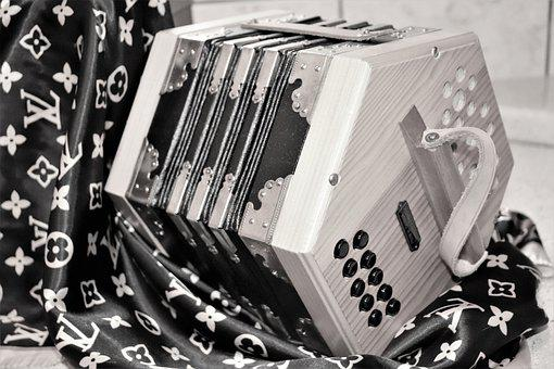 Bandoneon, Bandonion, Music, Musicians, Instrument