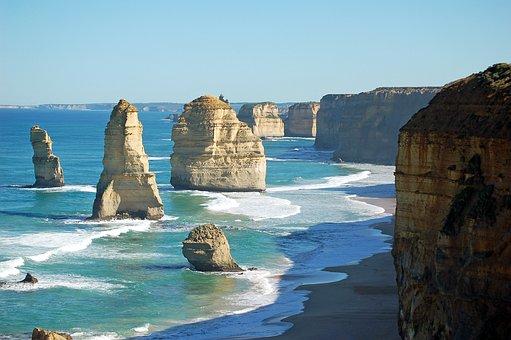 Great Ocean Road, Victoria, Australia, Travel, Ocean