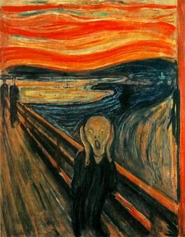 Edvard Munch, Scream, Painting, Terror