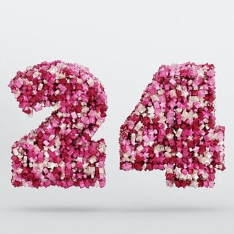 The Number Of, 24, Twenty-Four, Number