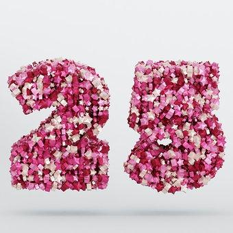 The Number Of, 25, Twenty-Five, Number