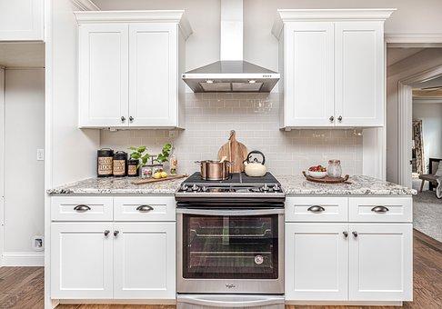 Kitchen, Cabinets, Oven, Range, Decor, Interior, Cook