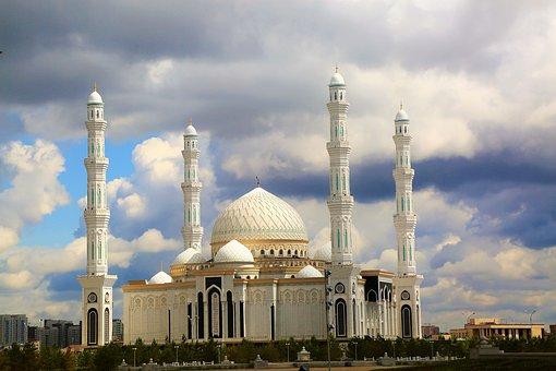 Cami, Minaret, Dome, Islam