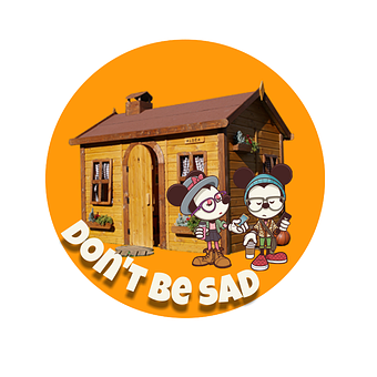 Mickey And Minnie, Clipart, Sticker, Don't Be Sad, Love