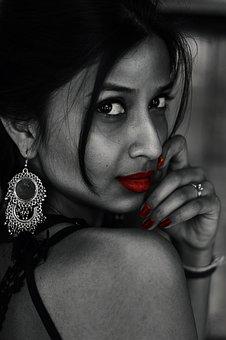 Model, Fashion, Portrait, Girl, Girl Looking Back