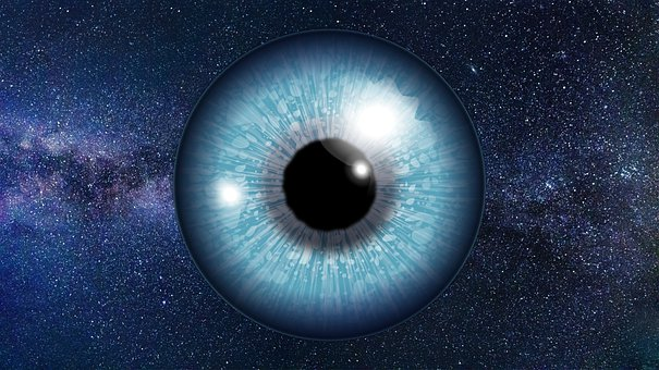 Eye, Blue, Iris, Eyeball, Looking, See, Color, Optic