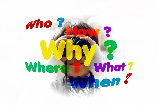 Questions, Students, Child, Boy, Binoculars, Who, What