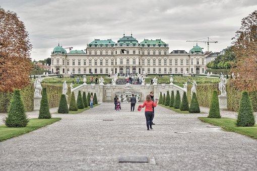 Belvedere, Vienna, Austria, Castle, Building