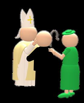 Confirmation, Bishop, Church, Firmpate, Firmand