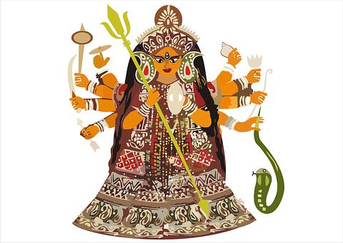 Durga, Bengali, Kolkata, Hindu, Puja, India, Goddess