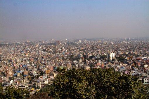 Kathmandu, Polluted Kathmandu, Kathmandu City, Nepal