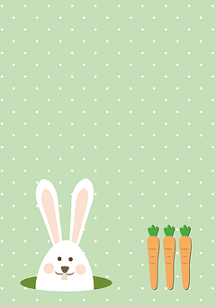 Hare, Easter Bunny, Ears, Rabbit, Tittle, Background