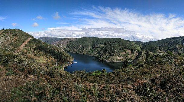 River, Sil, Galicia, Orense, Ribera, Sacred, Landscape