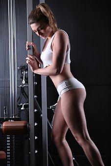 Sport, Bodybuilding, Fitness, Woman, Health, Muscle