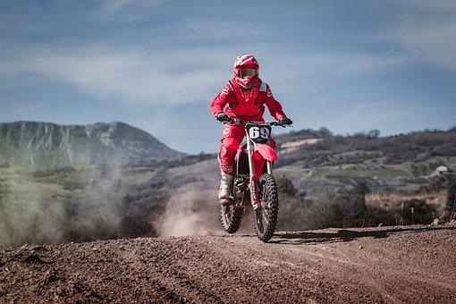 Motocross, Race, Sport, Speed, Extreme, Action, Pilot